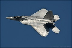 "Lockheed Martin F-22 Raptor (DaveChapman ""If it flies,I shoot it"") Tags: uk usa fighter raptor stealth f22 lockheed usaf deployment deployed 95th 2016 lakenheath lockheedmartinf22raptor 95thfightersquadron"