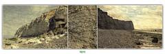 SITE DU CAP BLANC-NEZ / PLAGE D'ESCALLES (rgisa) Tags: sea cliff mer beach chalk cap cape intertidal nez seashore falaise plage blanc channel craie manche foreshore marne blancnez escalles estran