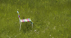 ...auf dem Land ( doro 51 ) Tags: spring chair colorful meadow wiese stuhl bunt frhling 2016 dorophoto