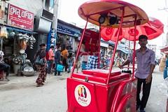 H504_3196 (bandashing) Tags: street england people man ice manchester pull icecream shops push polar cart rickshaw sylhet bangladesh socialdocumentary aoa bandashing akhtarowaisahmed