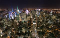 manhatten-night (maki13371) Tags: city travel ny architecture night lights cityscape view sony manhatten