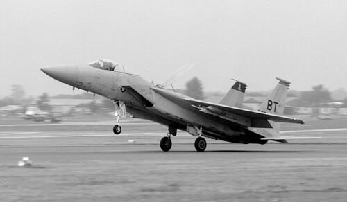 F-16C, 79-050  Bitburg BT, Farnborough International