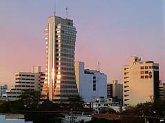 Barranquilla sunset (Orzaez212) Tags: sunset urban color building skyline atardecer arquitectura amrica colombia edificio ciudad olympus clear silueta atlntico caribe oficinas suramrica despejado flickrtravelaward