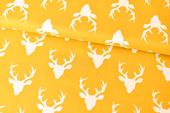 Bonnie Christine : Buck Forest from the Hello Bear collection (the workroom) Tags: fabric theworkroom hellobear artgalleryfabrics bonniechristine buckforestfabric