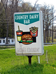 Country Dairy Bar, East Fultonham, OH (Robby Virus) Tags: ohio food abandoned ice home sign bar soft closed country cream somerset drivein east drinks signage dairy cookin us22 fultonham