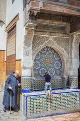 Plaza Nejjarine (valentinasota) Tags: morocco maroc marruecos fes nejjarine
