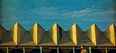golden light (EwaHB) Tags: roof sunset sun building rooftop yellow golden brighton hss sunglow ewahb