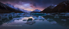 Dream Time. (PhoenixRoofing164) Tags: new sky lake snow seascape mountains reflection water island seascapes south australian zealand glaciers iceberg finest australias photogr darrenjbennett