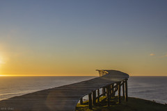 Muelle de las almas (ieradiaz) Tags: ocean chile travel viaje sunset sea sky atardecer pier muelle mar alma cielo soul anochecer chilo cucao