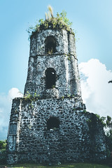 Cagsaw Ruins, Philippines (The Dame of all Trades) Tags: travel nikon philippines landmark cagsaua lightroom pacificislands cagsawaruins travelphotography dallasphotographer kasawa d3100