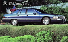 1994 Buick Roadmaster Sedan (aldenjewell) Tags: sedan buick postcard 1994 roadmaster
