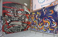 Repeat, Tanea, Caper and Ruskidd 2016-04-10 (6D_1248) (ajhaysom) Tags: streetart graffiti australia melbourne repeat caper tanea canon1635l canoneos6d ruskidd