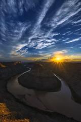 """Convergence"" (Mark Metternich) Tags: sunset sky southwest canon river tour desert surreal canyon workshop monsoon convergence tours canyons gooseneck workshops 1124 sunstar surrealscape markmetternich markmetternichcom a7r2"