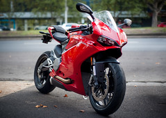 Ducati 959 (joshuawoodhead) Tags: outdoors melbourne motorcycle ducati 959 panigale