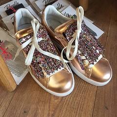 Coming soon  Le 25 mars... (konsortium.avignon) Tags: shoes basket puma creeper pinkgold uploaded:by=flickstagram instagram:photo=1211722638844668532329377217 carlineboutique