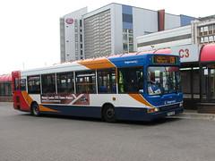 Stagecoach Dennis Dart SLF 34765 PX55EEW - Cardiff (dwb transport photos) Tags: bus pointer cardiff alexander dennis dart stagecoach 34765 px55eew