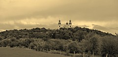 IMG_4606e_jnowak64 (jnowak64) Tags: panorama sepia poland polska krakow cracow mik wiosna malopolska architektura bielany krajobraz klasztor krakoff