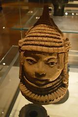 terracotta head, Benin, Nigeria (Mr. Russell) Tags: africa england london head terracotta nigeria benin britishmuseum
