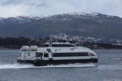 Brage (sindre97) Tags: ocean sea mountain snow water norway boat norge spring ship fjord skip bt sn lesund vr brage vr langevg norled