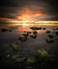 Sunset in Hanko (Oscar Keserci Photography) Tags: sunset art nature water clouds suomi finland coast landscapes nikon rocks seascapes fineart fine atmosphere d750 hanko scandinavia luonto uusimaa raseborg