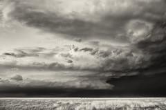 EVA, OK supercell (ir guy) Tags: blackandwhite bw storm oklahoma rain canon ir photography infrared plains ok chaser sepa supercell 41516 jeremyholmes