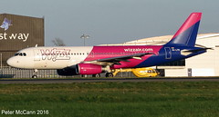 HA-LPW A320 Glasgow April 2016 (pmccann54) Tags: wizzair airbusa320 halpw