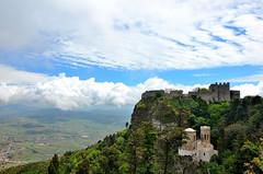 Strinopr castello di Erice ( Strinopr) Tags: castello borgo medievale sicilia erice