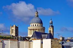 Paris Avril 2016 - 165 es toits dans le Vime arrondissement, le Panthon (paspog) Tags: paris france roofs april avril panthon toits 2016 decken toitsdeparis