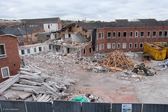 Going (roddersdad) Tags: buildings demolition lincolnshire april gainsborough 2016 copyrightclivejmaclennan cliveg1hkfeclipsecouk fujifilmxt1 httpswwwflickrcomphotosroddersdad fujinonxf18135mmrlmoiswr