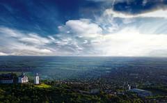(Marko Viacki) Tags: church landscape cityscape serbia sunrays crkva vojvodina srbija vrsac