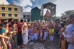 Ther Festival (rameshsar) Tags: people india color fuji religion 1024 ther triplicane xt1 parthasarathytemple festivalprocession chennain hinduisam brahmaothsovam
