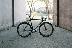 Leader Kagero (andyeclov) Tags: bike track gear leader fixed fixie kagero