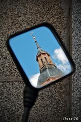 Reflejovisor (photoschete.blogspot.com) Tags: madrid espaa color reflection church colors canon spain iglesia reflejo 18200 retrovisor sima esos 70d madridcitymola