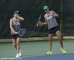 Monica Robinson Quinn Gleason (tlaenPix) Tags: acc notredame tennis ita carync quinngleason carytennispark accwomenstennischampionships monicarobinson