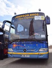 BJ16KYY  ''Euro Explorer''  Johnson Bros, Worksop (highlandreiver) Tags: bus mercedes benz coach brothers rally johnson lancashire bros blackpool kyy worksop tourismo bj16 bj16kyy