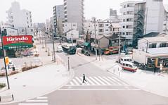 Osaka street-Morning time (PeiPei Yang) Tags: street morning japan fuji snapshot   osaka x100t