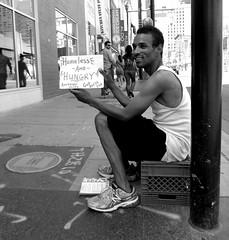 Panhandler (Greg's Southern Ontario (catching Up Slowly)) Tags: homeless streetphotography panhandler homelessman torontohomeless