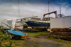 When the boat comes in (j.p. howley) Tags: uk lincolnshire shipyard humber nikon750