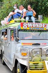 Local transport. Banaue (Laura Jacobsen) Tags: green rice philippines agriculture banaue jeepney ifugao riceterraces luzon localtransportation 8thwonderoftheworld
