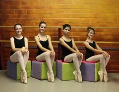 Cubism In Ballet (chicbee04) Tags: arizona ballet ballerina tucson cubes photosession props photostream cubism inthestudio balletdancers southwesternusa posingforthecamera enpoint arizonaballettheatre canoneos70d fouryoungballerinas