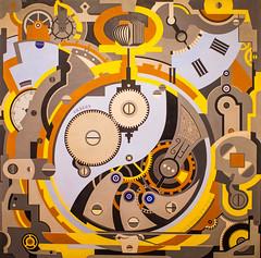 Watch (Thomas Hawk) Tags: usa museum painting dallasmuseumofart dallas texas unitedstates unitedstatesofamerica watch dma fav10 geraldmurphy