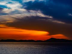 PhoTones Works #7819 (TAKUMA KIMURA) Tags: sunset nature silhouette landscape twilight scenery olympus     kimura    penf takuma     photones