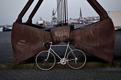 retro 1968 Mathias Stollenwerk (Aachen) racing bicycle II (Jualbo) Tags: bike bicycle vintage germany steel ace super racing retro record 1968 mathias fahrrad rostock dura vorpommern mecklenburg shimano campagnolo rennrad nuovo 2016 60er stollenwerk