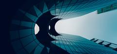 Afternoon bat (Panda1339) Tags: uk light sky london architecture lookup batman morelondonriverside