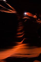 Upper Antelope Canyon Grainy Dec 27 2015 Bear Formation-3375 (houstonryan) Tags: arizona art nature print lens landscape photography utah carved nikon sandstone photographer ryan cut nation houston az canyon tokina erosion upper photograph page antelope navajo redrock slot narrow flashflood 1118mm d300s houstonryan hosutonryan pohtograph