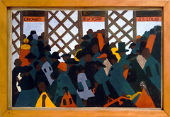 Lawrence, The Migration Series, (1 of 60 panels)