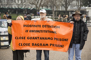 Indefinite Detention Banner