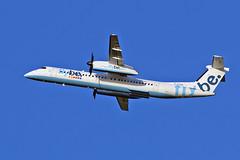 "G-ECOG DHC-8Q 402 Flybe MAN 20-12-15 (PlanecrazyUK) Tags: man manchester ringway egcc flybe airport"" dhc8q402 ""manchester gecog 201215"