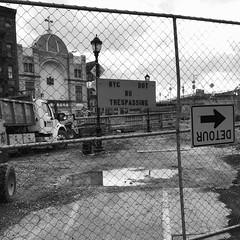 2016 Road to Salvation (A.M.Daniel) Tags: nyc newyorkcity church cross manhattan manhattanbridge trespass detour roadtosalvation