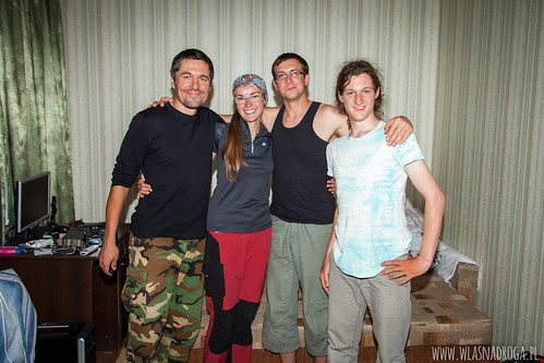 Rowerzyści. Gościna u Artema w Ałmaty